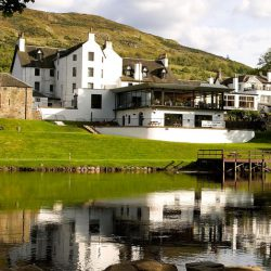 The Kenmore Hotel on the banks of the river Tay Perthshire.