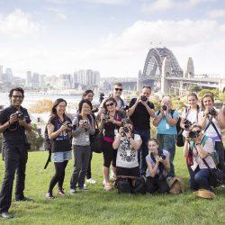 Camera Essentials Tour Workshop Participants