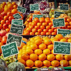 fruit in a food market