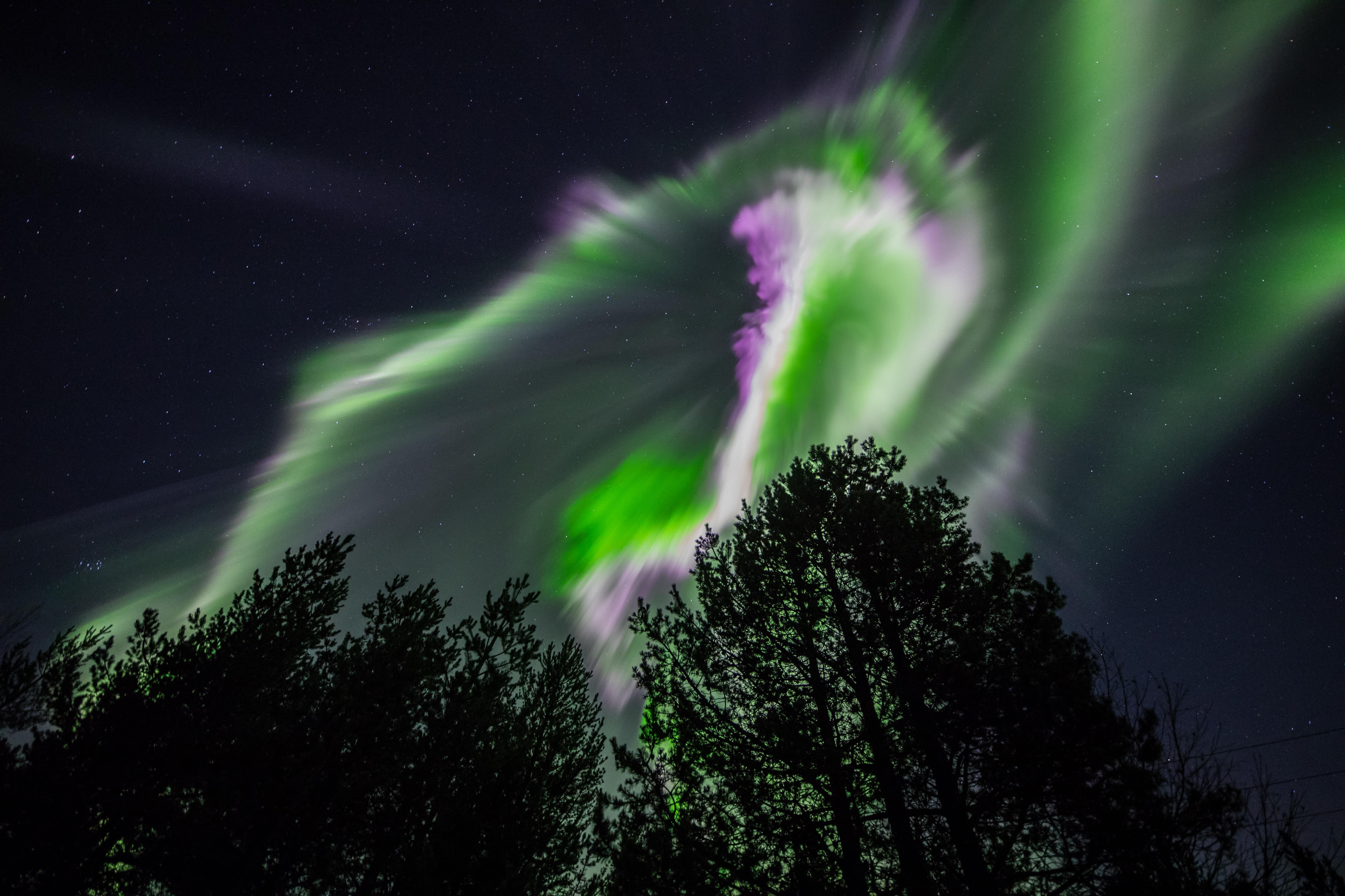 The Aurora Over Lapland