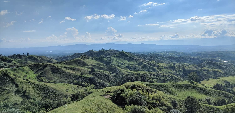 fields in colombia