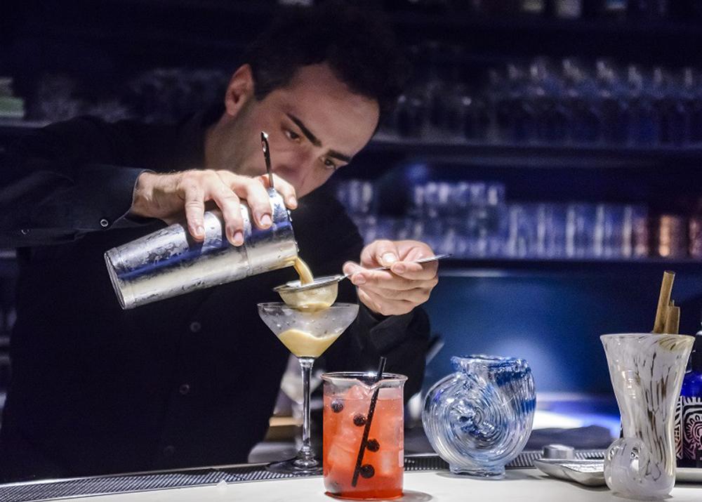 Premium Cocktail at Night