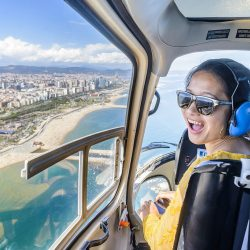 Helicopter Ride Over Barcelona