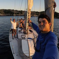 Sailing in Brazil